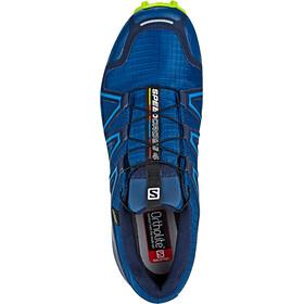 Salomon Speedcross 4 GTX Shoes Herre poseidon/navy blazer/lime green
